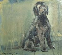 DOG WITH AN ATTITUDE by Con Campbell at Ross's Auctions