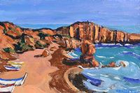 ALGARVE BOATS by Kenlito at Ross's Auctions