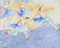 BALLET DANCERS by Alexander Ford at Ross's Auctions