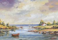 STRANGFORD LOUGH, COUNTY DOWN by Darin Paul at Ross's Auctions