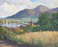 VIEW TO DUNDRUM by Hugh O'Neill at Ross's Auctions