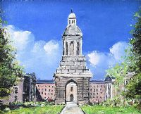 THE TOWER AT TRINITY COLLEGE DUBLIN by Sean Lorinyenko at Ross's Auctions