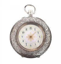 935 SILVER FOB WATCH at Ross's Jewellery Auctions
