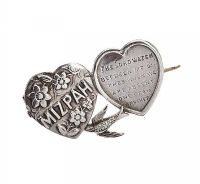 STERLING SILVER MIZPAH BROOCH at Ross's Online Art Auctions
