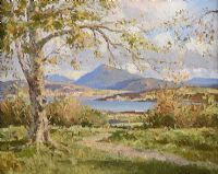 AUTUMN, CREESLOUGH by Maurice Canning  Wilks ARHA RUA at Ross's Auctions