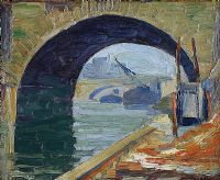 ARCHWAY, RIVER SEINE by William J. Leech RHA at Ross's Auctions