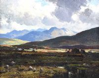 KERRY BOGLAND, COUNTY KERRY by Maurice Canning  Wilks ARHA RUA at Ross's Auctions