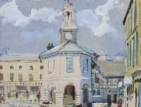 THE MARKET HALL by John Victor Emms at Ross's Auctions