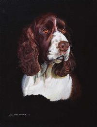 SPRINGER SPANIEL by John Lewis Fitzgerald at Ross's Auctions