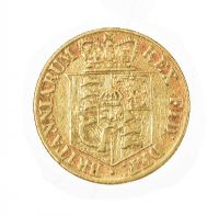 1818 BOXED GEORGE III HALF SOVEREIGN 22CT GOLD at Ross's Jewellery Auctions
