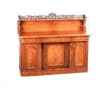 VICTORIAN MAHOGANY GALLERY BACK SIDEBOARD at Ross's Auctions