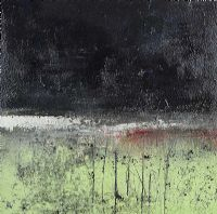 DARK SKY & GREEN PASTURE by Colin Flack at Ross's Auctions