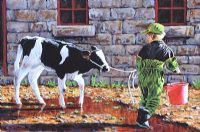 THE CALF by Keith Glasgow at Ross's Auctions