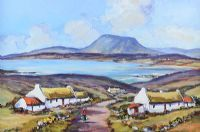 MUCKISH MOUNTAIN, COUNTY DONEGAL by Nigel Allison at Ross's Auctions