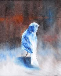 BIRD IN BLUE by Michael Smyth at Ross's Auctions