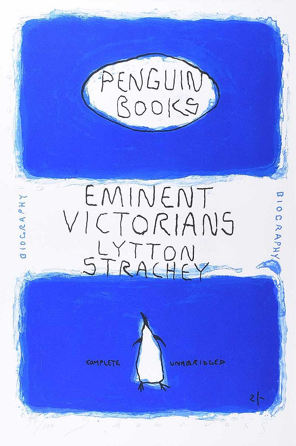 EMINENT VICTORIANS BY LYTTON STRACHEY, PENGUIN BOOKS SERIES by Neil Shawcross RHA RUA at Ross's Online Art Auctions