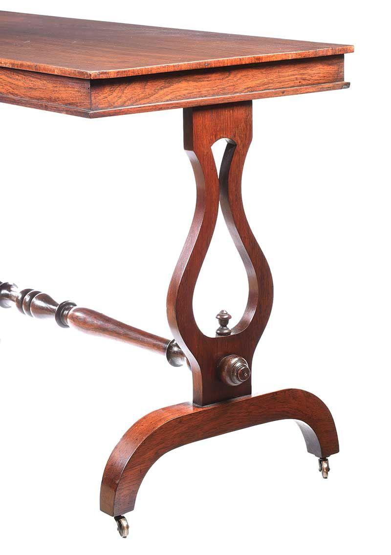 VICTORIAN ROSEWOOD SIDE TABLE at Ross's Online Art Auctions