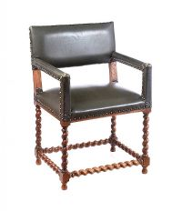 VICTORIAN OAK ARMCHAIR at Ross's Auctions
