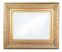 ANTIQUE GILT WALL MIRROR at Ross's Auctions