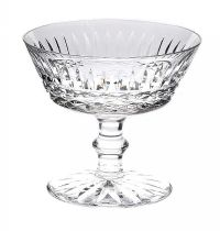 SET OF SIX WATERFORD CRYSTAL CHAMPAGNE SAUCERS at Ross's Auctions