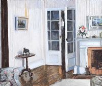 INTERIOR by Rose Brigid Ganly HRHA at Ross's Auctions