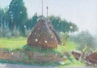 HAYSTACKS by Anne Shingleton at Ross's Auctions