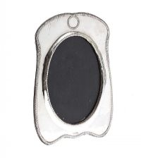STERLING SILVER PHOTOGRAPH FRAME at Ross's Jewellery Auctions