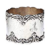 STERLING SILVER NAPKIN RING at Ross's Jewellery Auctions