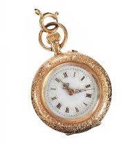 14CT GOLD FOB WATCH at Ross's Jewellery Auctions
