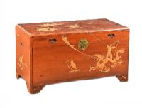 CHINESE CAMPHOR WOOD BLANKET CHEST at Ross's Auctions