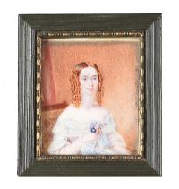 FRAMED MINIATURE at Ross's Auctions