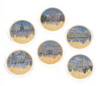 SET OF SIX COMMEMORATIVE COINS at Ross's Auctions