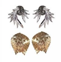 TWO PAIRS OF COSTUME EARRINGS at Ross's Jewellery Auctions