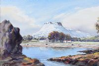 LURIG MOUNTAIN, CUSHENDALL by Charles McAuley at Ross's Auctions