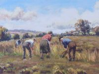 HARVEST TIME by Charles McAuley at Ross's Auctions