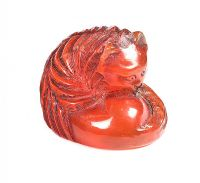 AMBER NETSUKE at Ross's Auctions