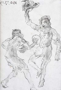 THE GAME by R. Sickert ARA at Ross's Auctions