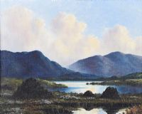 TURF STACKS, CONNEMARA by Douglas Alexander RHA at Ross's Auctions