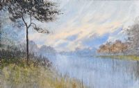 TREE BY THE RIVER by William Percy  French at Ross's Auctions