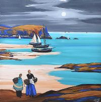 PORTBRADDEN MOON by J.P. Rooney at Ross's Auctions