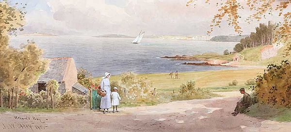HELEN'S BAY, COUNTY DOWN by Joseph William  Carey RUA at Ross's Online Art Auctions