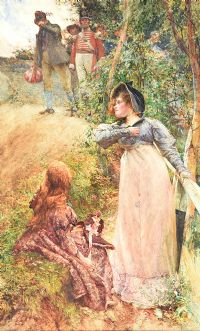 THE KING BREAKS MANY HEARTS by Edgar Bundy ARA at Ross's Auctions