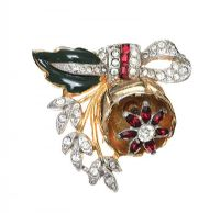 TRIFARI VINTAGE BROOCH at Ross's Auctions