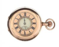 GOLD-TONE POCKET WATCH at Ross's Jewellery Auctions