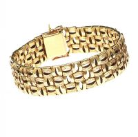 18CT GOLD BRACELET at Ross's Auctions