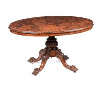 VICTORIAN WALNUT OVAL BREAKFAST TABLE at Ross's Online Art Auctions