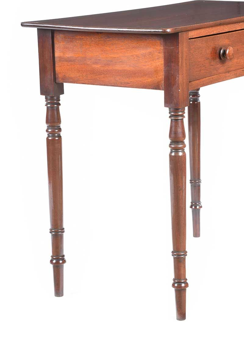 VICTORIAN MAHOGANY SIDE TABLE at Ross's Online Art Auctions
