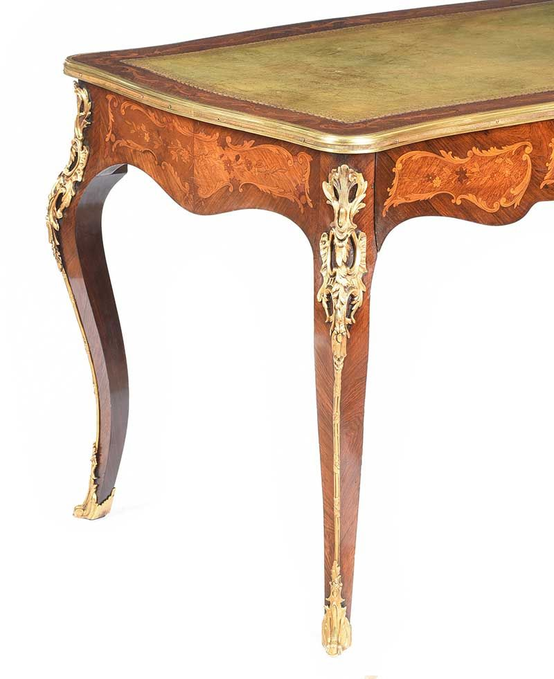 ANTIQUE KINGWOOD DESK at Ross's Online Art Auctions
