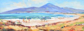 MURLOUGH BEACH, COUNTY DOWN by Nigel Allison at Ross's Auctions