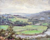 RIVER & LANDSCAPE by Estella F. Solomons at Ross's Auctions